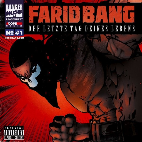 Farid Bang – Der letzte Tag deines Lebens Album Cover