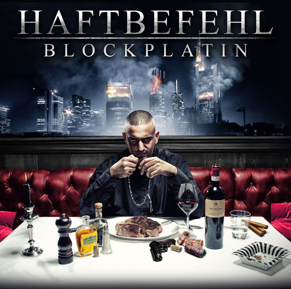 Haftbefehl – Blockplatin Album Cover