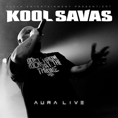 Kool Savas – Aura Live Album Cover