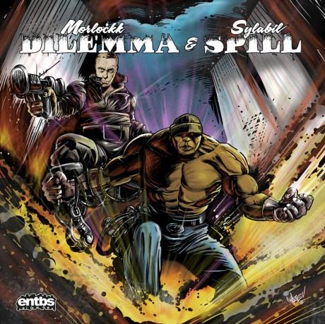Morlockk Dilemma & Sylabil Spill –  roh.kalt EP Album Cover