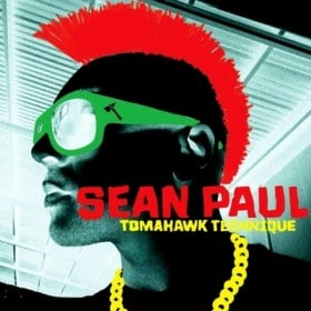 Sean Paul - Tomahawk Technique Album Cover