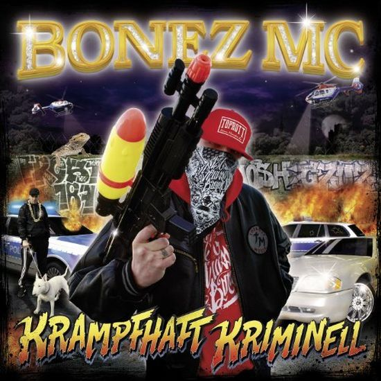 Bonez MC – Krampfhaft Kriminell Album Cover