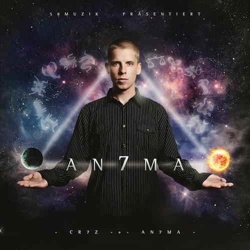 Cr7z – An7ma Album Cover