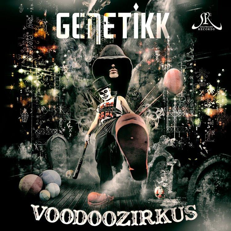 Genetikk – Voodoozirkus Album Cover