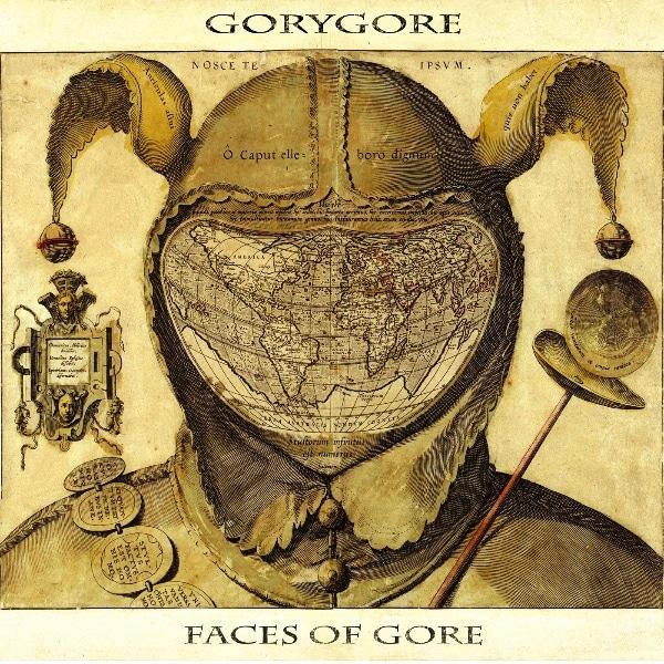 Gory Gore – Faces Of Gore Album Cover