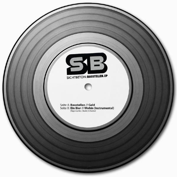Sichtbeton – Baustellen EP Album Cover