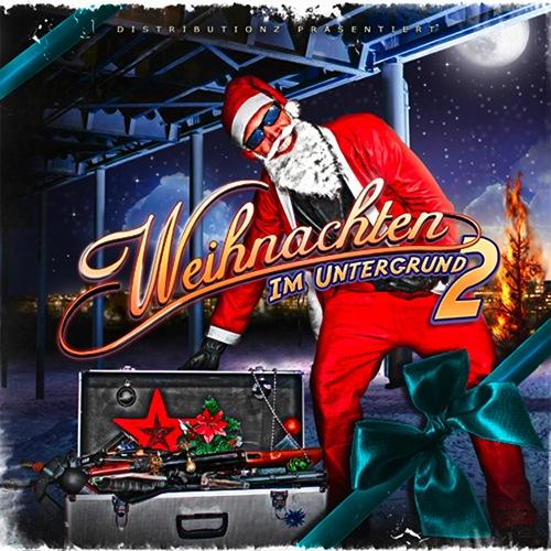Verschiedene Interpreten – Weihnachten im Untergrund 2 Album Cover