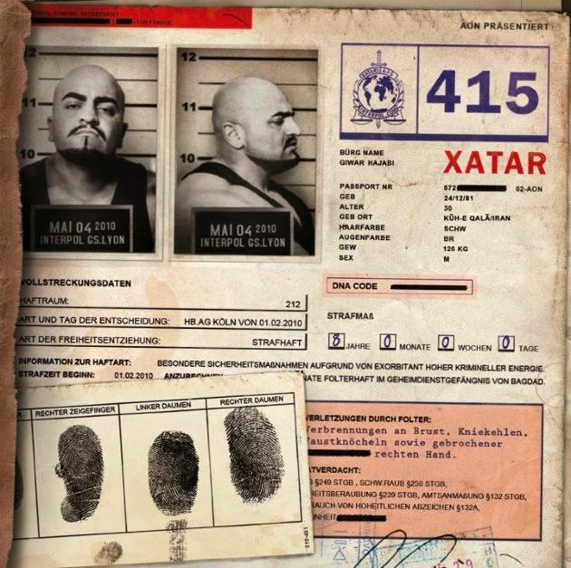 Xatar – Nr.415 Album Cover