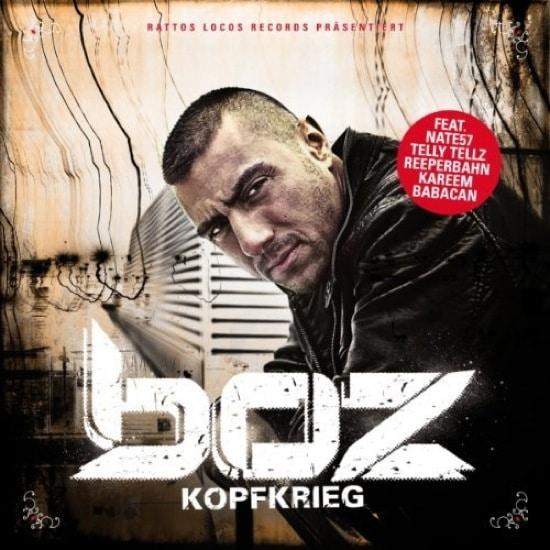 BOZ – Kopfkrieg Album Cover