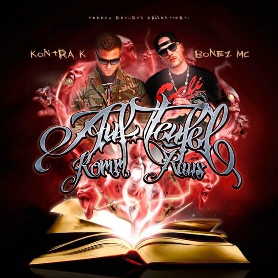 Bonez MC & Kontra K  – Auf Teufel komm raus Album Cover