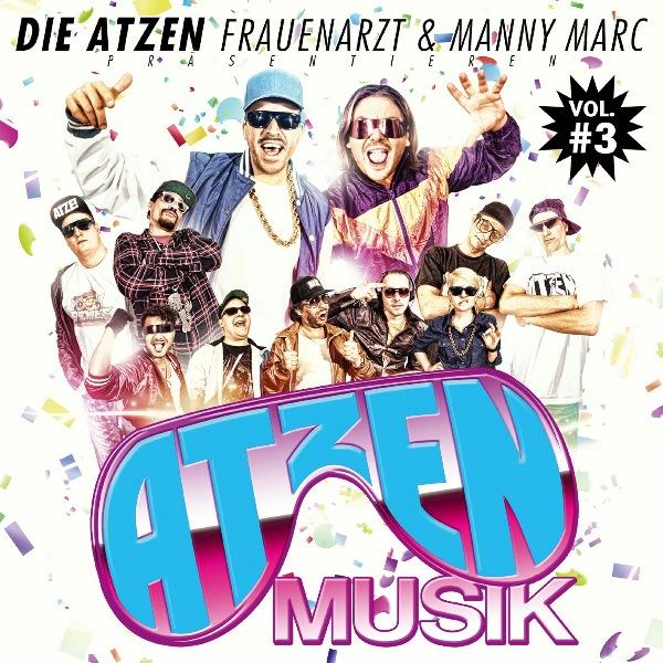 Frauenarzt & Manny Marc – Atzen Musik Vol.3 Album Cover