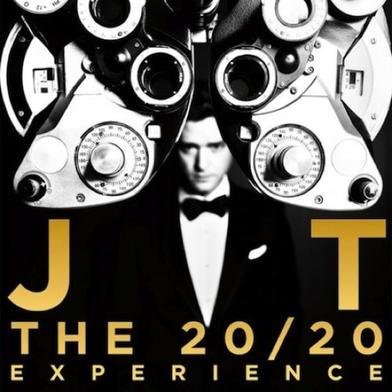 Justin Timberlake – The 20/20 Experience Album Cover
