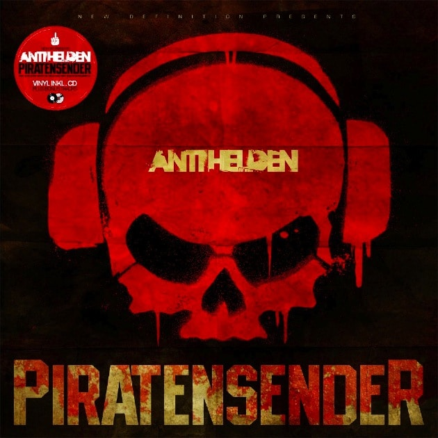 Antihelden - Piratensender Album Cover