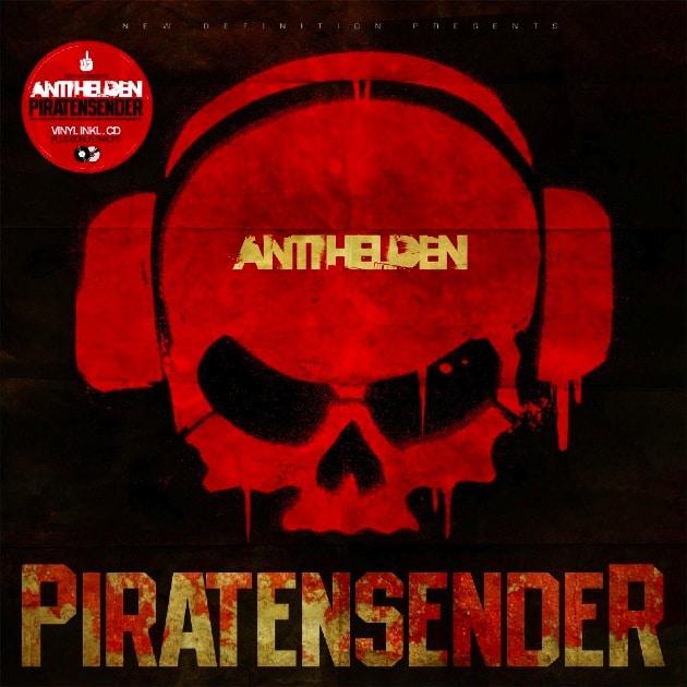 Antihelden – Piratensender Album Cover