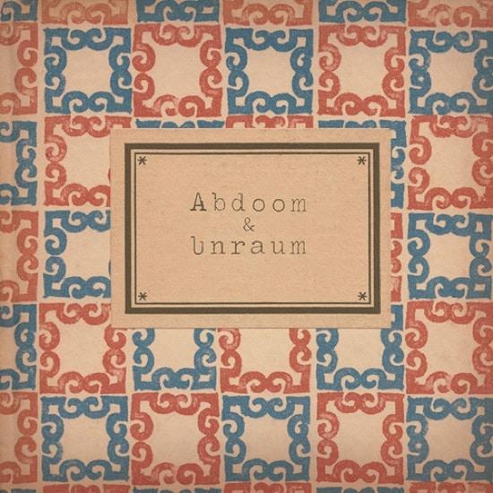 Tufu – Abdoom & Unraum Album Cover