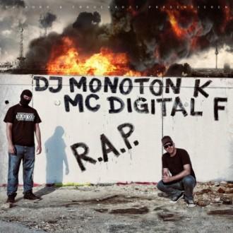 DJ Monoton K & MC Digital F - RAP Album Cover