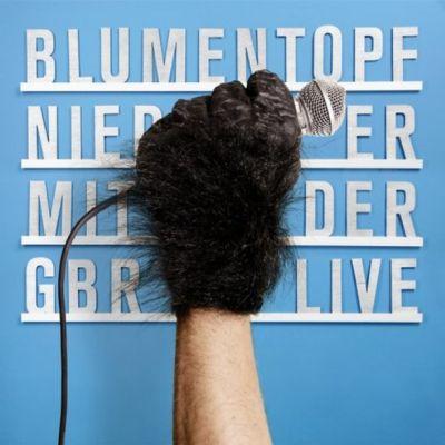 Blumentopf – Nieder mit der Gbr (Live) Album Cover