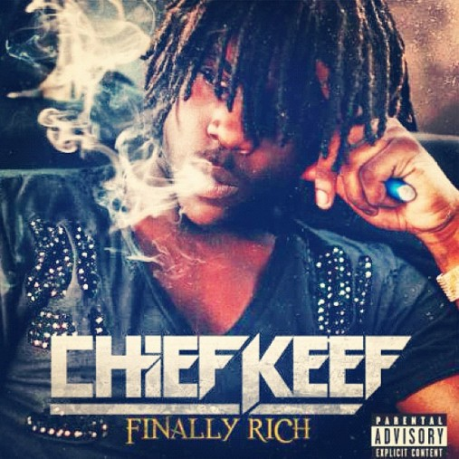 Chief Keef – Finally Rich Album Cover