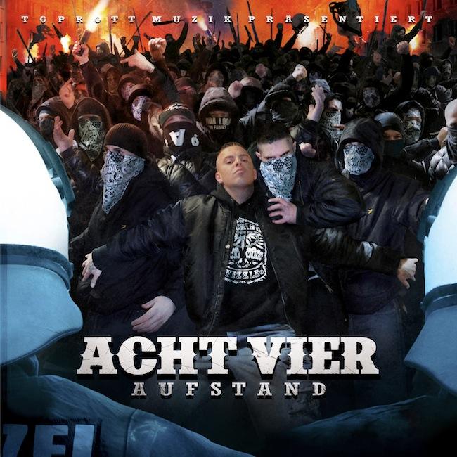 AchtVier – Aufstand Album Cover