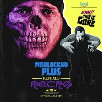 Morlockk Dilemma & Necro - Morlockko Plus Album Cover