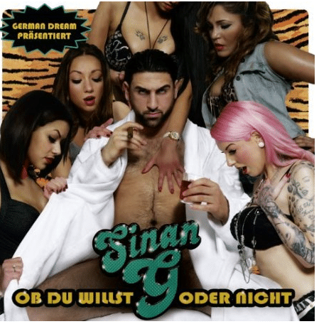 Sinan G – Ob du willst oder nicht Album Cover