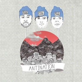 Egoland - Antination Album Cover