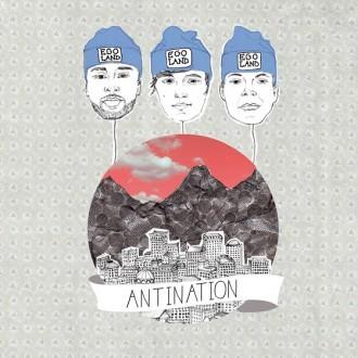 Egoland - Antination Album Cover