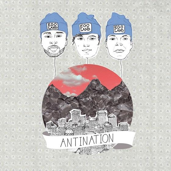 Egoland – Antination Album Cover