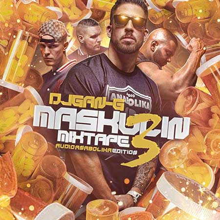 Fler, Silla, Jihad & Animus – Maskulin Mixtape Vol.3 Album Cover