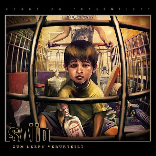 Said – Zum Leben verurteilt Album Cover