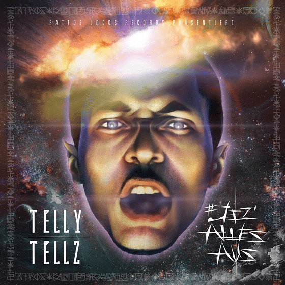 Telly Tellz - Jez Alles Aus Album Cover