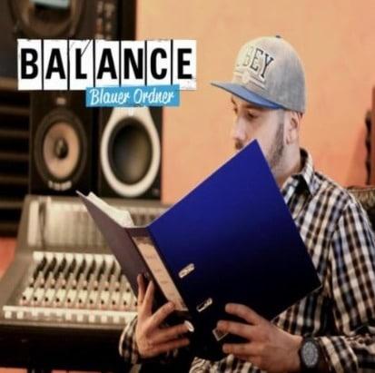 Balance – Blauer Ordner Album Cover