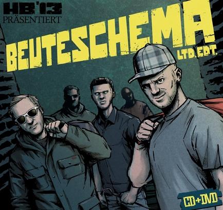 Halunkenbande Sampler – Beuteschema Album Cover