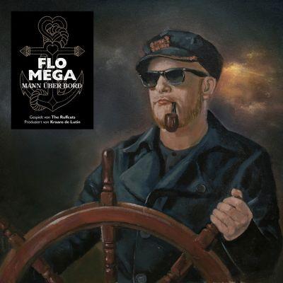 Flo Mega – Mann über Bord Album Cover