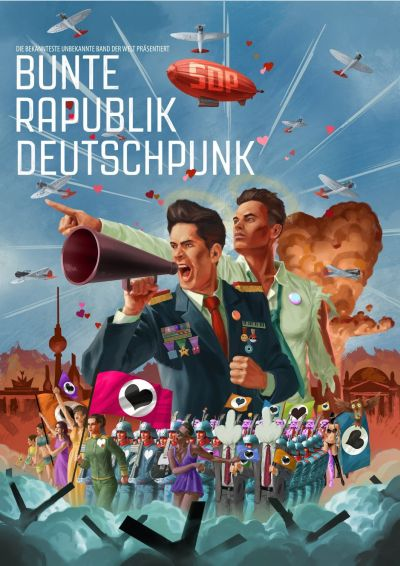 SDP – Bunte Rapublik Deutschpunk Album Cover