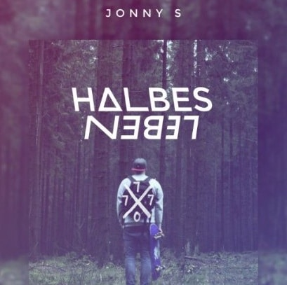 Jonny S –  Halbes Leben Album Cover
