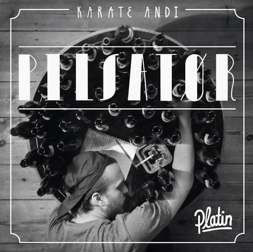 Karate Andi – Pilsator Platin Album Cover