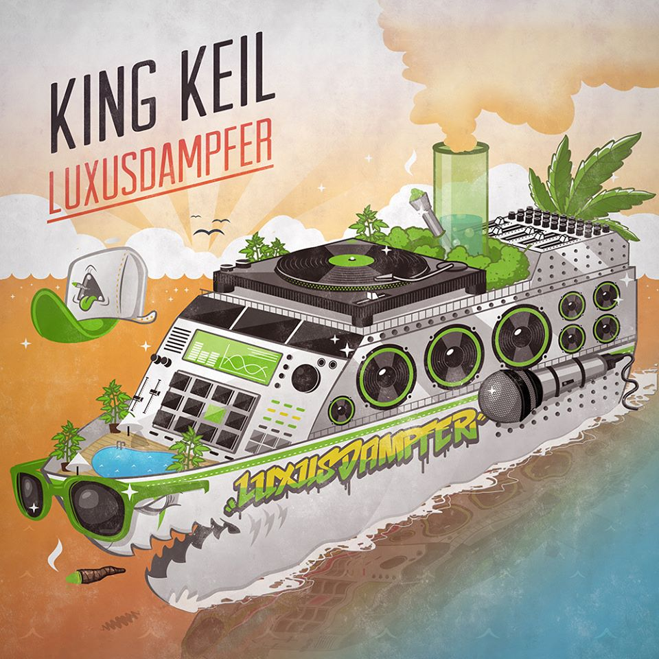 King Keil – Luxusdampfer Album Cover