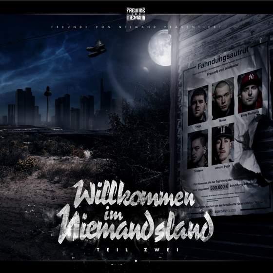 Freunde von Niemand – Willkommen im Niemandsland 2 Album Cover