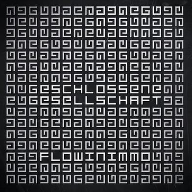 Flowin Immo – Geschlossene Gesellschaft Album Cover