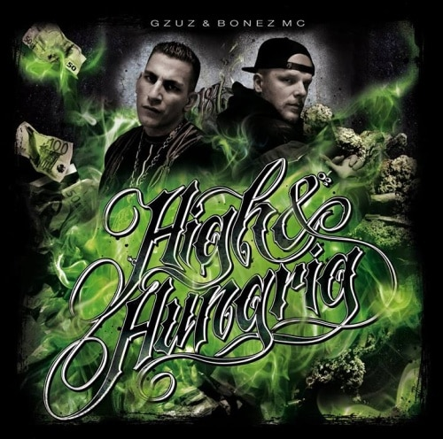 Gzuz und Bonez MC – High & Hungrig Album Cover