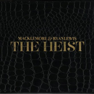Macklemore & Ryan Lewis - The Heist Album Cover