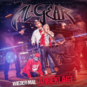 Al-Gear - Wieder mal angeklagt Album Cover