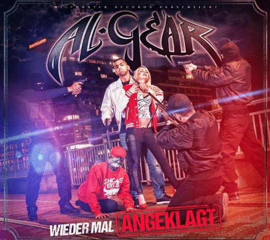 Al-Gear – Wieder mal angeklagt Album Cover