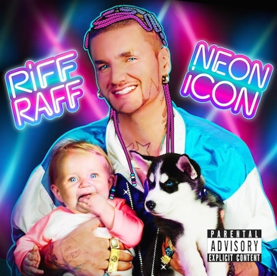 Riff Raff – Neon Icon Album Cover