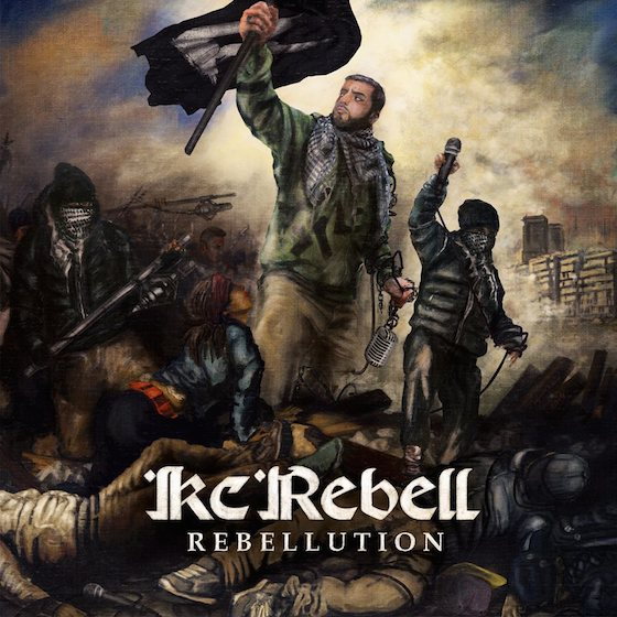 KC Rebell – Rebellution Album Cover