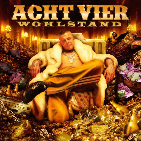 AchtVier – Wohlstand Album Cover