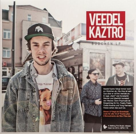 Veedel Kaztro – Büdchen Lp Album Cover