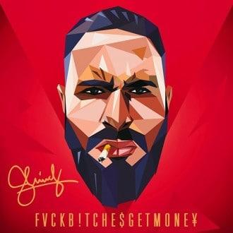 Shindy - Fuck Bitches Get Money Album Cover