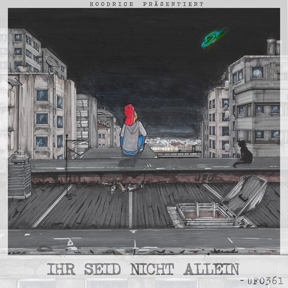 Ufo361 – Ihr seid nicht allein Album Cover